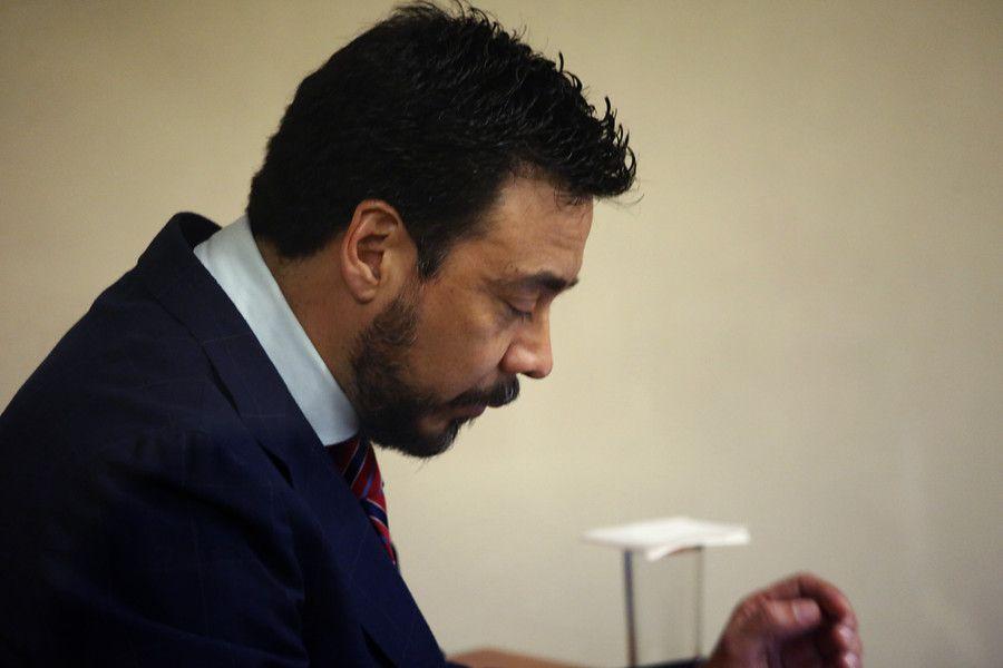 Juzgado de Garantia de Rancagua realiza audiencia de formalización contra el suspendido fiscal región de O'higgins, Emiliano Arias