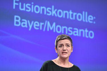European Commissioner for competition Margrethe Vestager addresses a