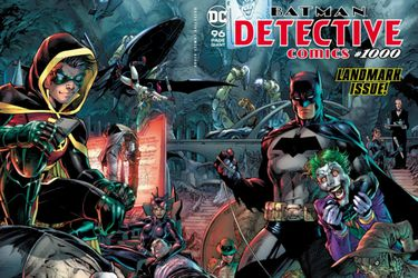 Detective Comics #1000 fue el cómic más vendido de 2019 en EE.UU.
