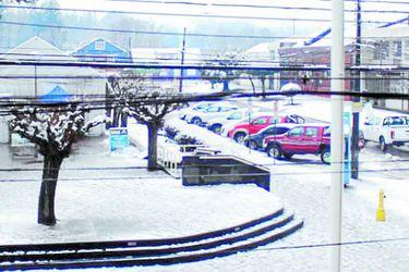 nieve en curacautín