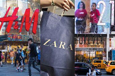 H&M, Zara y F21