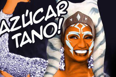 Azúcar Tano: La fusión entre Ahsoka y Celia Cruz de Rosario Dawson