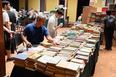 Feria del Libro usado abre sus puertas este 31 de enero