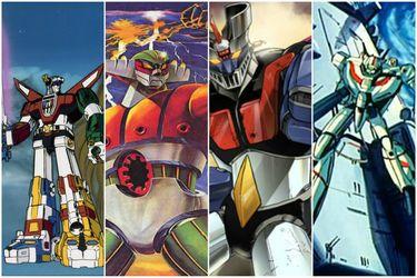 De Mazinger a Robotech: Los clásicos anime de robots gigantes