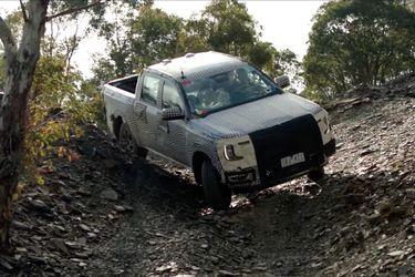 Ford sigue mostrando en acción a la próxima generación Ranger