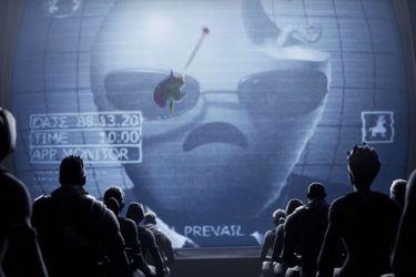 """Epic Games llama a """"unirse a la pelea"""" contra Apple con un comercial que convierte a la manzana en un opresor"""