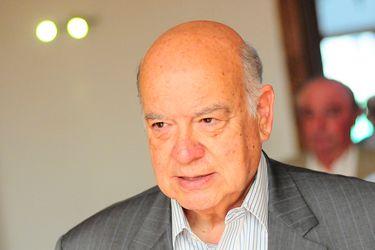 """Insulza tras renuncia a la vicepresidencia del PS: """"No me parece bien que el presidente del partido comience a promover una candidatura (presidencial)"""""""