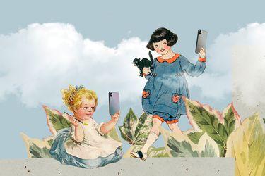 ¿Por qué los niños se sacan selfies?