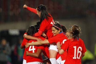 Chile vs Colombia, preparatorio Mundial femenino Francia 2019.
