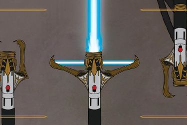 Primer vistazo a un nuevo sable de luz de Star Wars: The High Republic