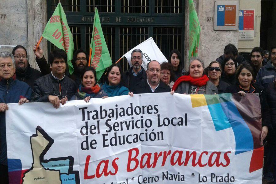 Trabajadores del Servicio Local Barrancas.