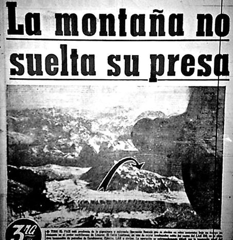 La portada de La Tercera con la tragedia del avión que trasladaba a parte de la delegación de Green Cross.