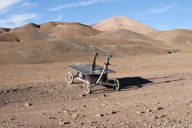 Nasa prueba en el desierto de Atacama cómo un rover podría detectar vida en Marte