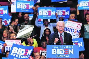 Sanders bajo máxima presión luego de triunfos consecutivos de Biden