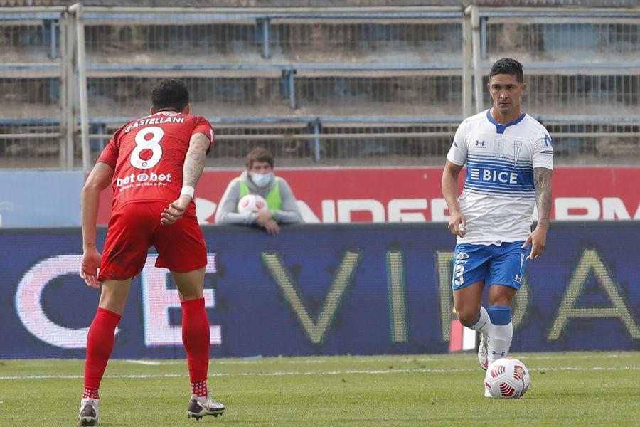 Felipe Gutiérrez, jugador de Universidad Católica, se refirió a los próximos desafíos ante Unión Española y Atlético Nacional de Medellín.