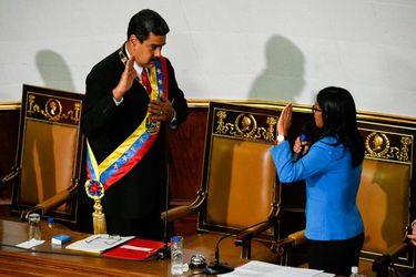 Nicolás Maduro jura como presidente reelecto ante la Asamblea Constituyente
