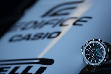 La velocidad une a Casio Edifice y a la Scuderia AlphaTauri