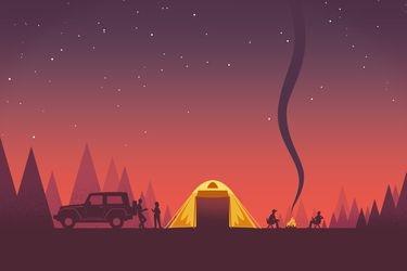 Todo lo que necesitas para salir a acampar
