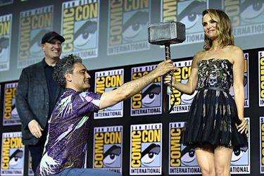 """Natalie Portman abordó su rol como la nueva """"Diosa del Trueno"""" en Thor: Love and Thunder"""