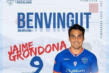Jaime Grondona se va a Andorra: su primer paso fuera de Chile a los 33 años