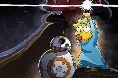 Los Simpson tendrán un nuevo corto inspirado en Star Wars
