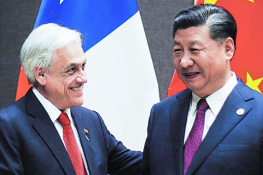 PAPUA NUEVA GUINEA: Presidente de la República, sostiene una reunión bilateral con el Presidente de China