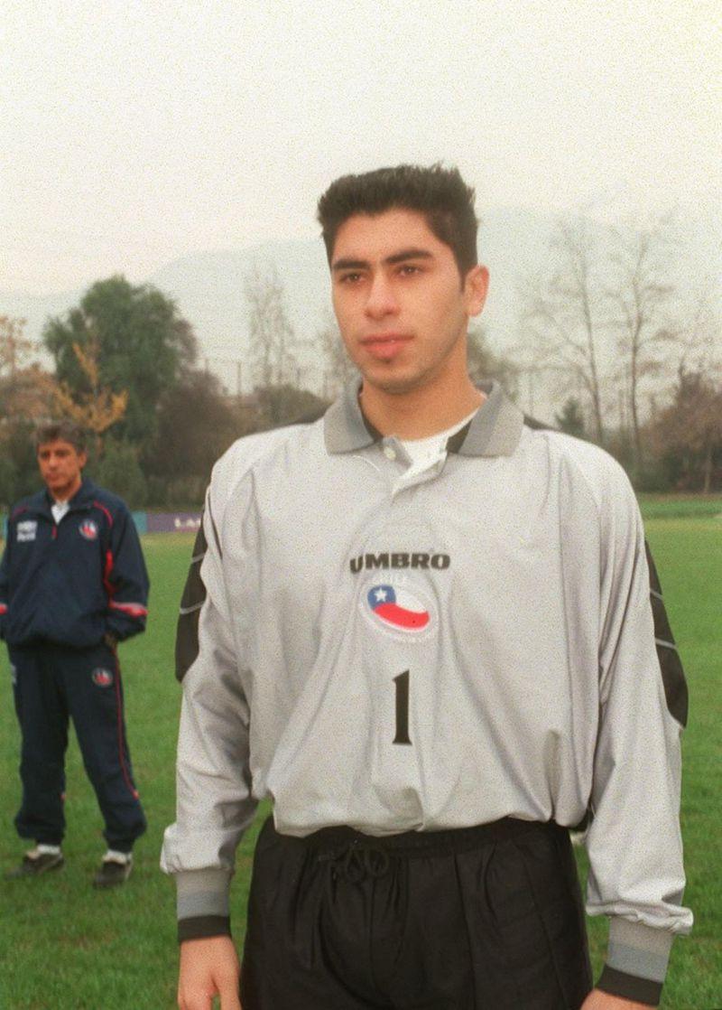 Johnny en la Selección.