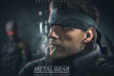 Oscar Isaac será Solid Snake en la película de Metal Gear Solid