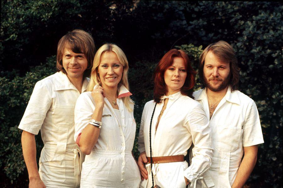ABBA Swedish pop group in 1976