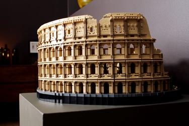 LEGO presenta el kit más grande de su historia: El Coliseo Romano