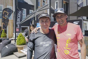 Bustos y Galíndez hablan sobre la evolución del Ironman en Chile.