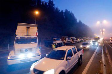Gremio de los camioneros amenaza con paro si es que el gobierno no garantiza seguridad en La Araucanía