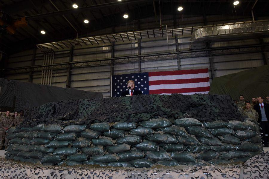 Trump  en Afganistán