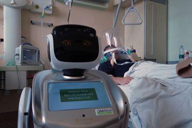 Italia | Robots donados por China controlarán a distancia a pacientes contagiados con coronavirus