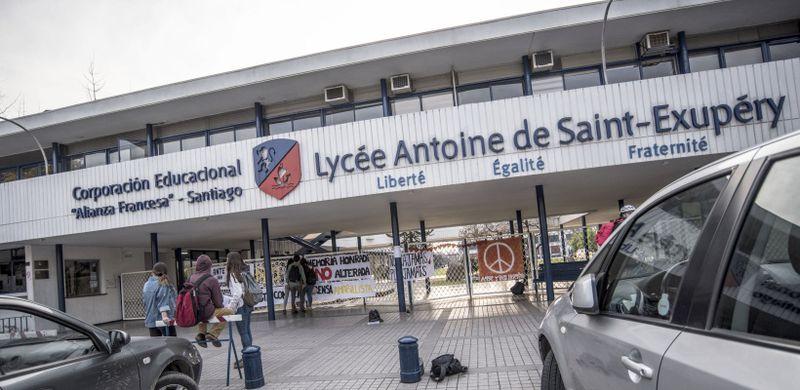 06 de Septiembre de 2017 Fachada del Colegio Alianza Francesa