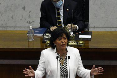 Cuenta pública de Provoste abre debate sobre su continuidad como presidenta del Senado