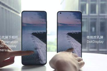 Xiaomi lanzará smartphones con cámara frontal oculta bajo la pantalla a partir del próximo año