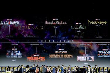 Filtran un video que presenta a la Fase 4 de Marvel Studios