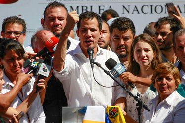 """Guaidó dice su breve detención muestra """"desespero"""" del Gobierno venezolano"""