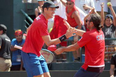 Chile logra posponer la serie de Copa Davis ante Eslovaquia