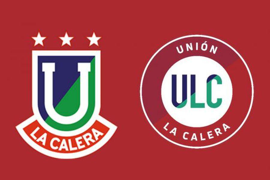 Ambas insignias de La Calera, que convivirán en la nueva camiseta.
