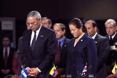 ¿Dónde estaba Colin Powell el 11 de septiembre del 2001?