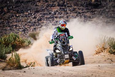 Giovanni Enrico se queda con el segundo puesto en los quads