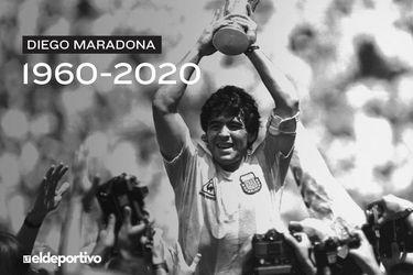 Muere Maradona, deidad pagana del fútbol mundial