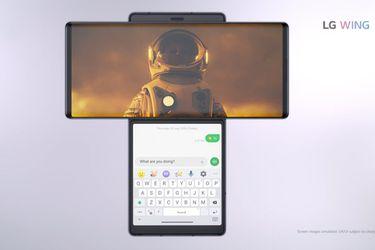 Conozcan a Wing, el nuevo smartphone con pantalla dual de LG