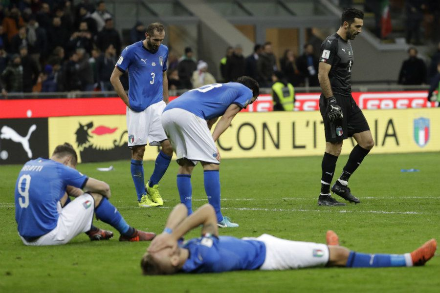 Italian players react (20626914)