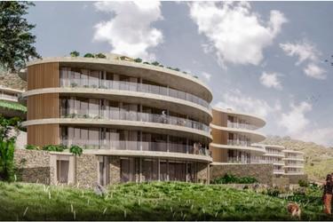 """14 edificios y dos centros comerciales: el megaproyecto inmobiliario de Schiess en """"pausa"""" en Lo Barnechea"""