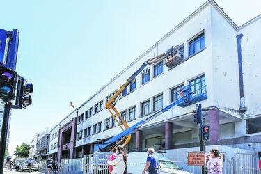 Concepción inicia la recuperación de sus edificios destruidos el 18/O