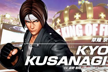 Kyo Kusanagi protagoniza el nuevo adelanto de The King of Fighters VX