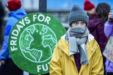 Fridays For Future protest in Stockholm
